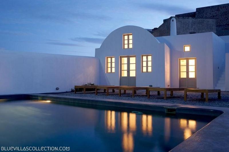 Fabrica - Minimal design villa in Santorini - Image 1 - Santorini - rentals