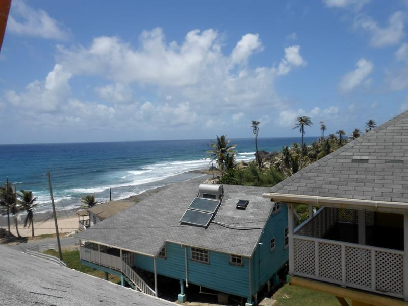View from loft - Cottage in Bathsheba right infront of the surf - Bathsheba - rentals