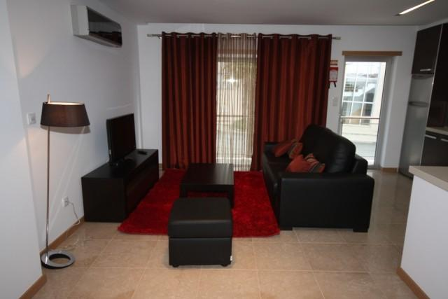 Living room with TV and DVD - Apartment at Sao Martinho do Porto, Portugal - Sao Martinho do Porto - rentals