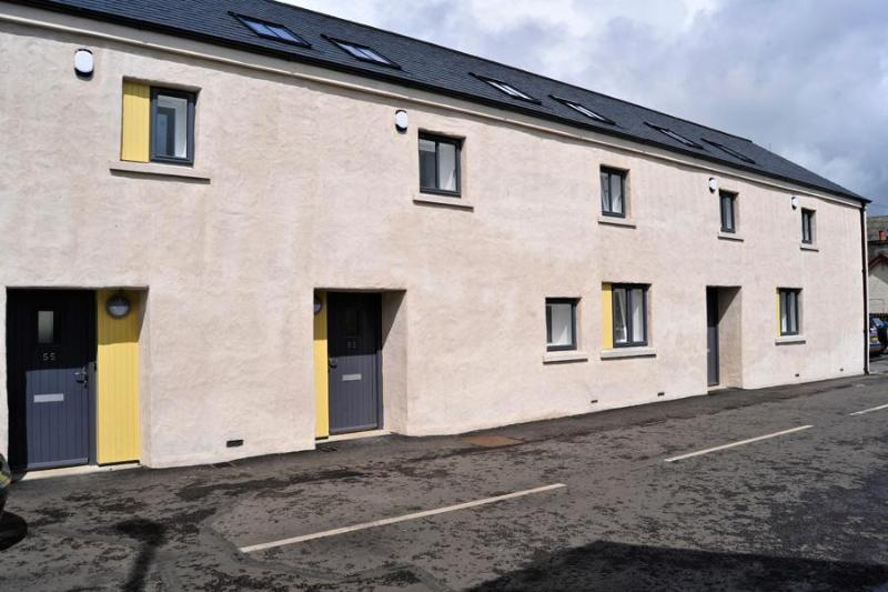 External Shots - Pyjama Factory Town House - Bushmills - rentals