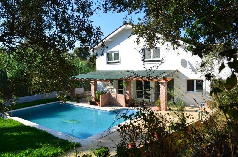 South house by day - Charming house with pool and garden - Malaga - rentals