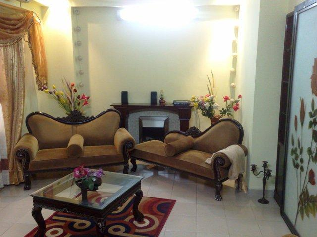 Drawing Room - 1550 Sq.Ft. Posh and exclusive well Furnished Apartment for rent at Paribagh, Dhaka-1000 - Dhaka City - rentals