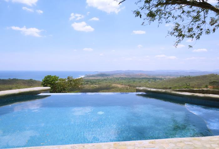 Pool view - Rancho Santana Casa Ultimo Tango - Tola, Nicaragua - Tola - rentals