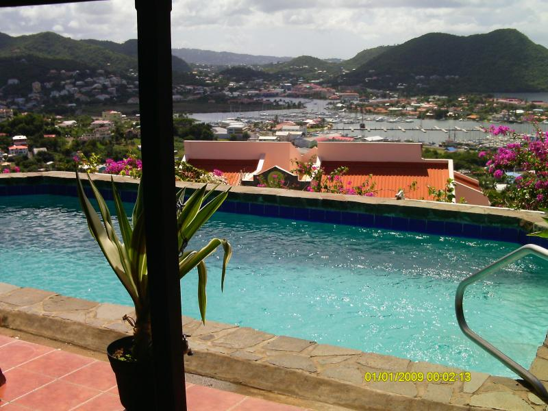 Swimming Pool Deck Views - Luxury Villa For Rent - Gros Islet - rentals