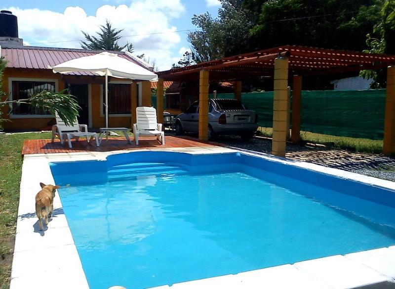 Piscina de material de 6x4x1.50 - Alquilo hermosa casa con piscina privada en las sierras de Cordoba! - Bialet Masse - rentals