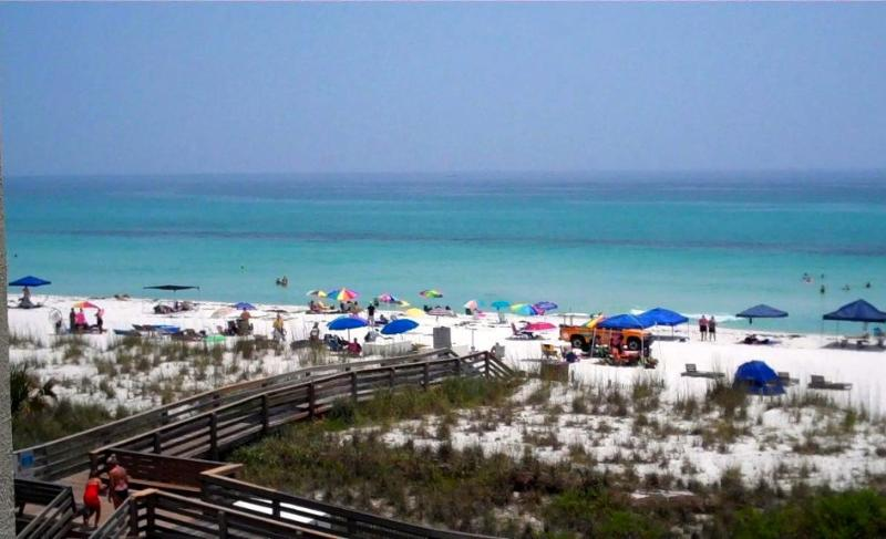 A Quick Trip Over the Crosswalk & Your Feet Hit Sugary-White Sands - Sweeping Views From Every Spacious Room - Pensacola Beach - rentals