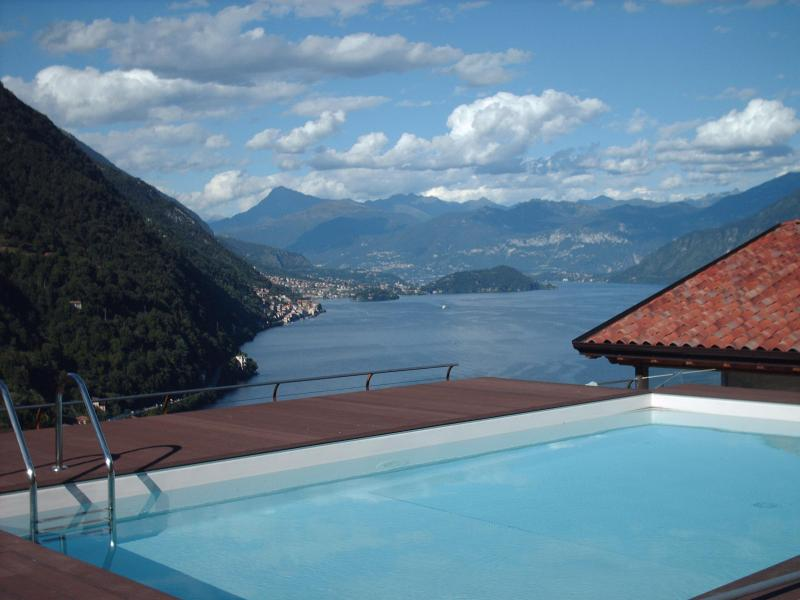 Swimmingpool whit the lake view - Villa whit amazing lake view - Argegno - rentals