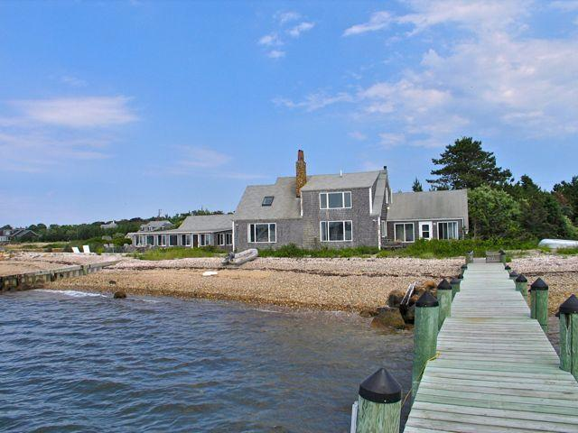 Oak Bluffs Waterfront House and Guest House! (Oak-Bluffs-Waterfront-House-and-Guest-House!-OB520) - Image 1 - Martha's Vineyard - rentals