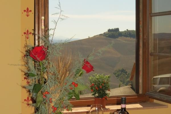 CR102Siena - Beautiful Tuscan countryside, 12 Km from Siena - Image 1 - Siena - rentals