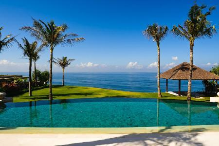 Villa Santai Sorga with panoramic beachfront views, 75 hectares of tropical gardens & infinity  pool - Image 1 - Uluwatu - rentals