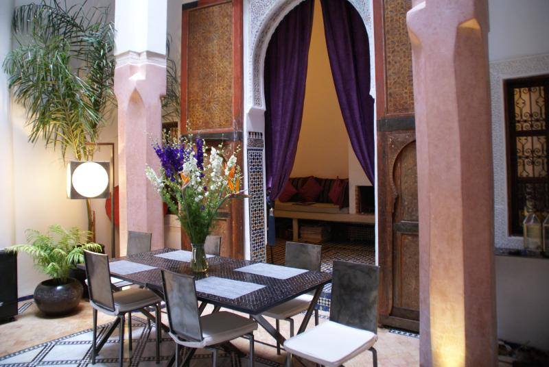 The patio - COZY AND TRENDY RETREAT IN THE HEARTH OF THE MEDINA - Fes - rentals