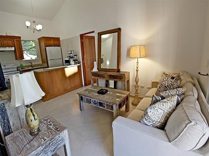 Living Room - Luxury and Cozy 2BR/2BA New Gated Community. Sosua - Sosua - rentals