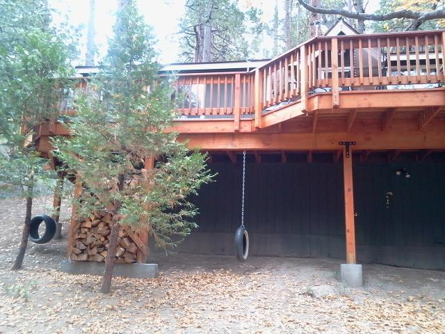 Tire Swings in Large Gated Yard - Eimer's Getaway - Idyllwild - rentals