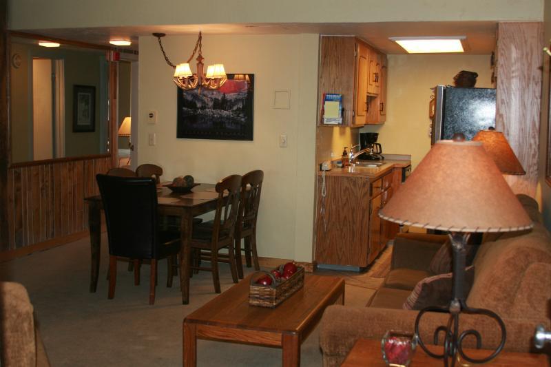 Living Room - Ski In / Ski Out 2 Bedroom Steamboat Condo - Steamboat Springs - rentals