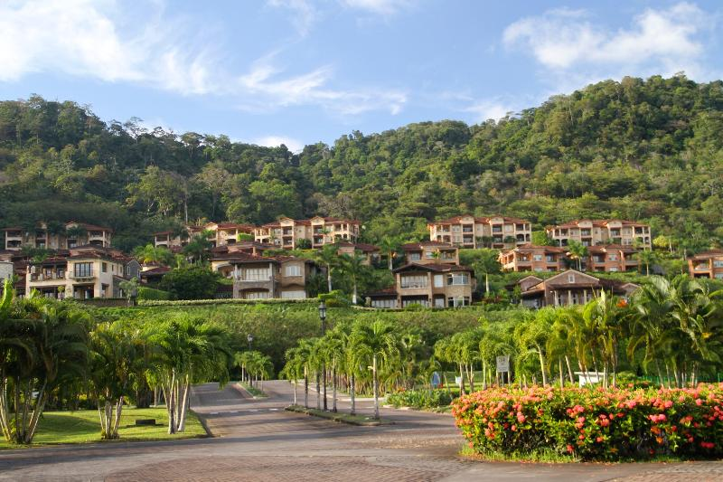 View of Residences and Rainforest - Luxury Golf Course Condo in Los Suenos Resort and Marina Colina 4F - Herradura - rentals