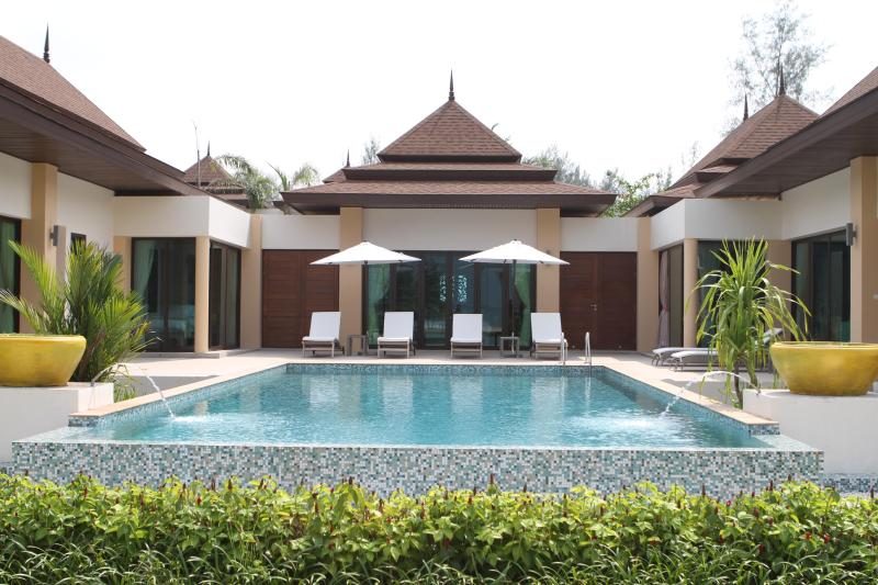 View on the Villa from the sea - Ataman Luxury Villa 3 bedrooms Sea View A2 - Ko Kho Khao - rentals