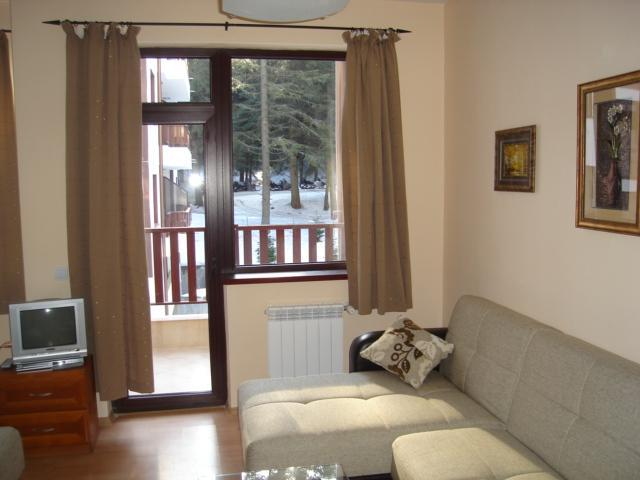 Lounge with access to balcony - Flora Violet 414 Studio Apartment - Borovets - rentals