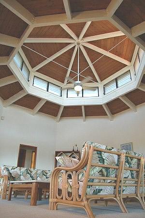 Large custom living area with vaulted ceilings - Whalewatch Home - Kailua-Kona - rentals