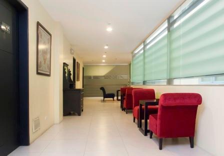 Lobby Area - Fully furnished Studio Type Room - Manila - rentals