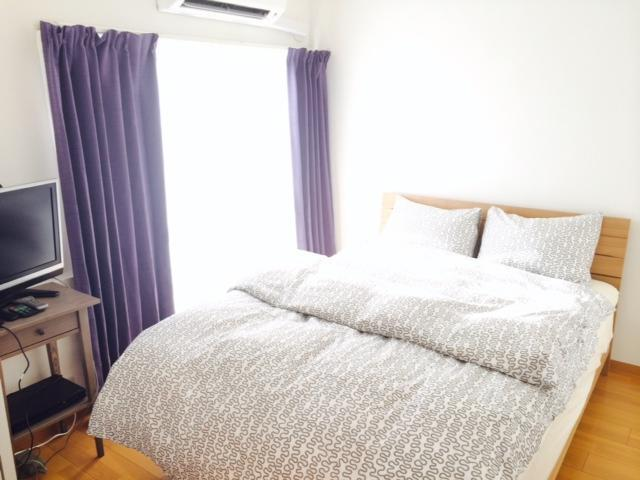Master bedroom - Shinjuku Yoyogi 3 Bedroom 1 Living room Apartment - Shinjuku - rentals