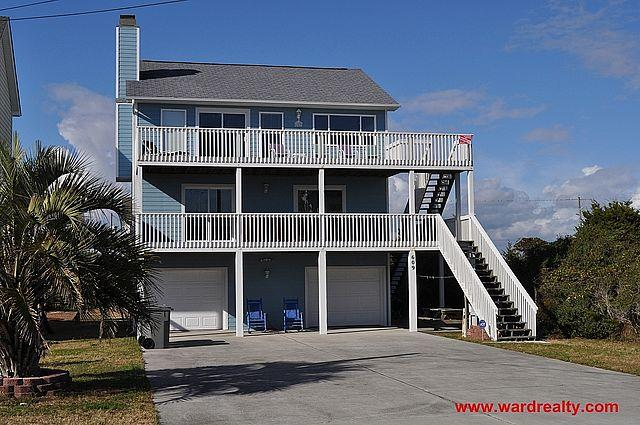 Exterior - Dune Alright - Surf City - rentals