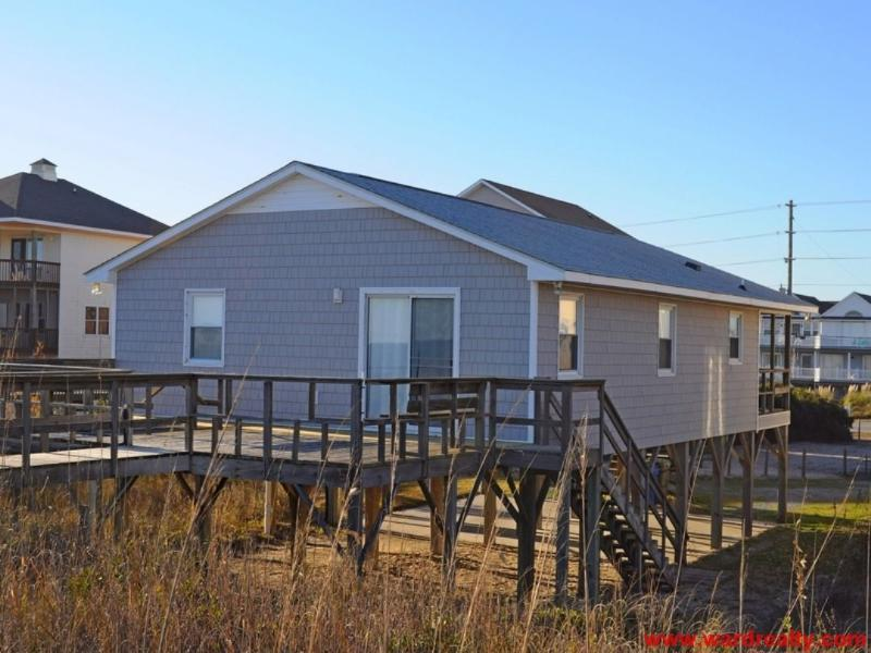 Oceanfront Exterior - Beach Chicks - North Topsail Beach - rentals