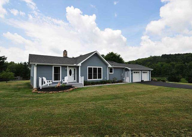 Front of House - Almost Lakefront - Swanton - rentals