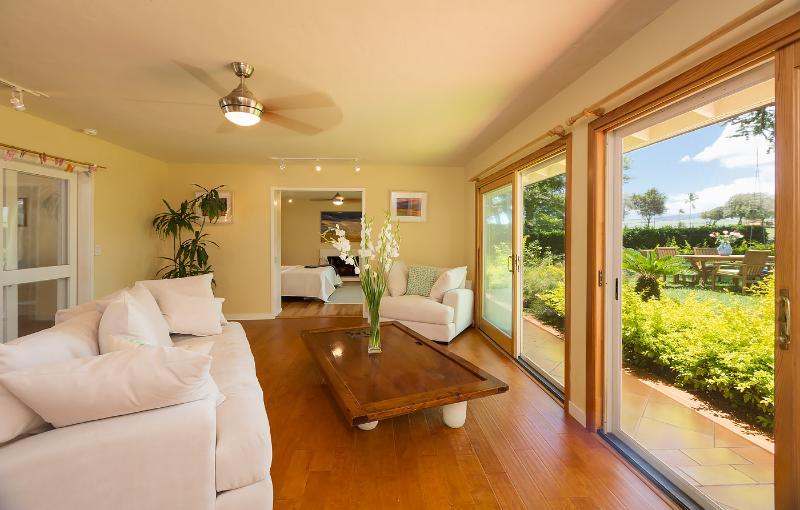 Plantation Home - Living Room 2 - Maui Plantation Home - 3min to Baby Beach, Baldwin - Paia - rentals
