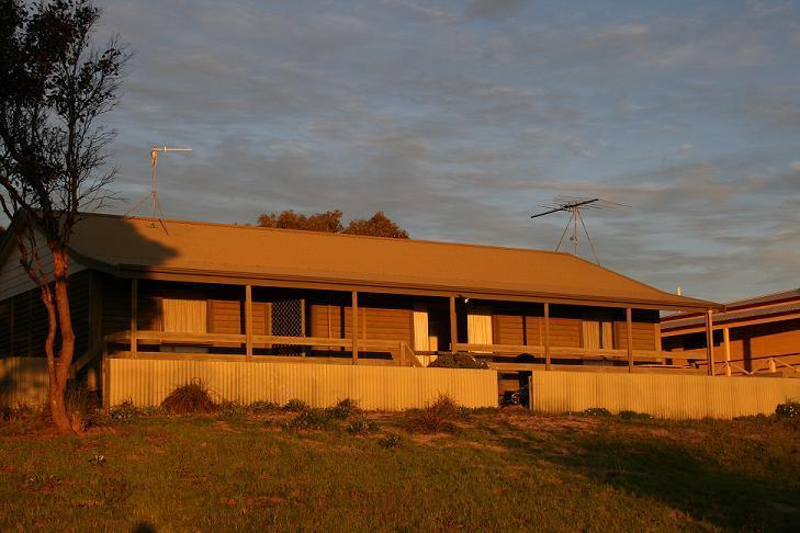 Front of the house - Sunset Lodge - Hardwicke Bay - Point Turton - rentals