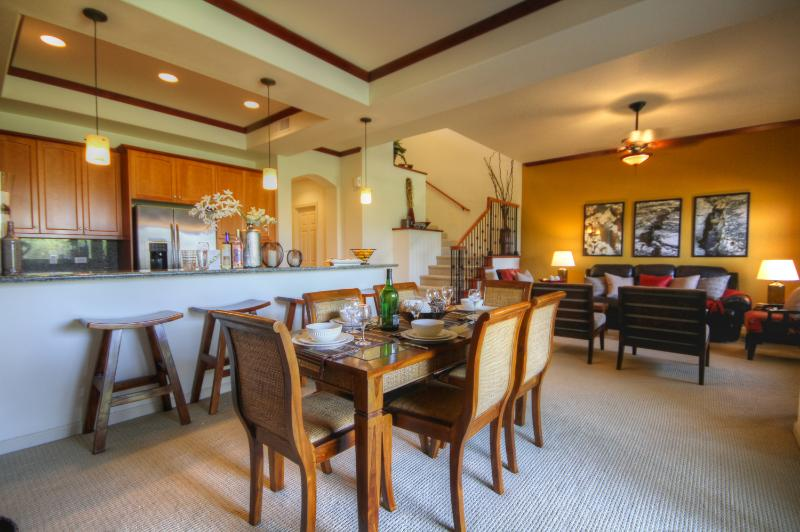 Main living space - Dancing Dolphins Villla: Luxury and Serenity - Waikoloa - rentals