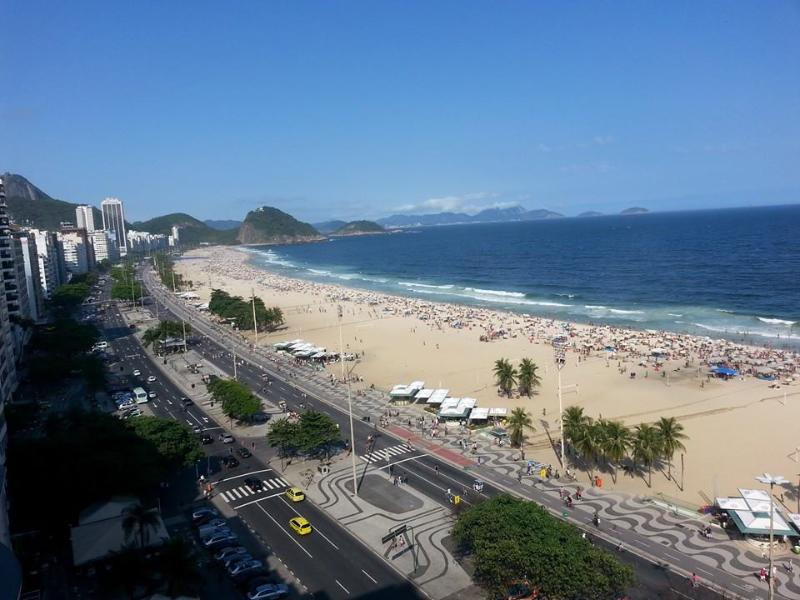 Praia de Copacabana - COPACABANA, POSTO 4 ,  5 MINUTOS DA PRAIA - Rio de Janeiro - rentals