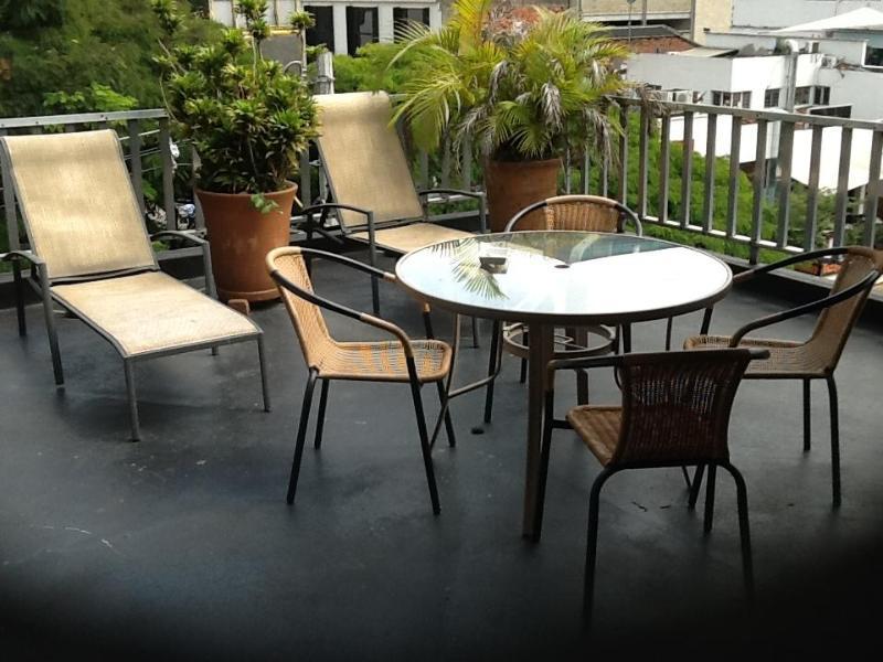 The deck - Parque Lleras Ground Zero Apartment 2 Bedroom PH - Medellin - rentals