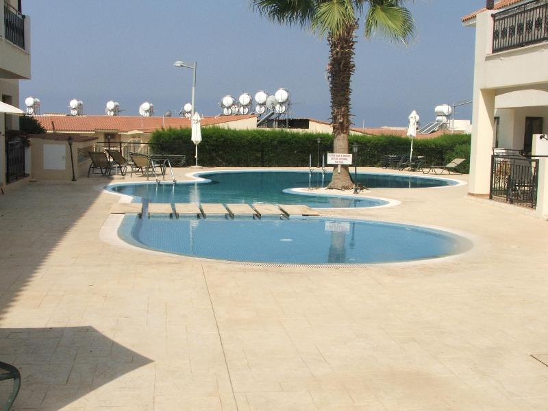 The apartment is set in the centre of a select residential area in the village of Emba. - Image 1 - Paphos - rentals