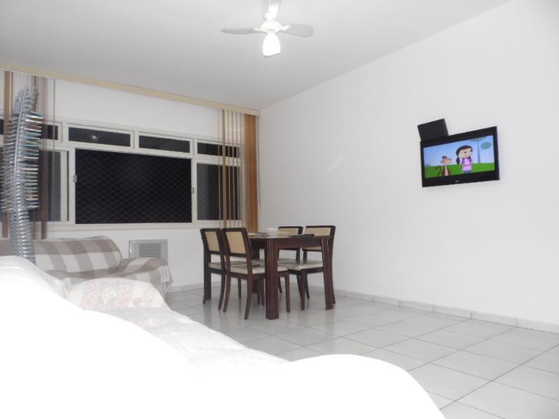 SALA - ÓTimo Apartamento A Uma Quadra Da Praia-2 quartos - Santos - rentals