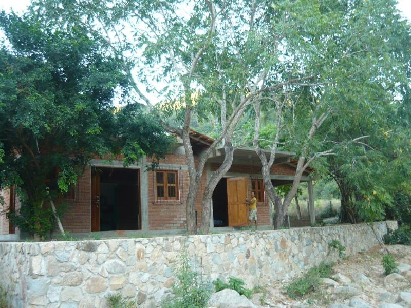 Casa Irene from river bed - Casa Irene - tranquil upriver paradise - Pizota - rentals