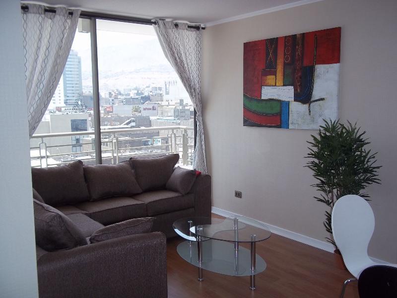 Living-room - Antofagasta Chile Brand New Apartment, 2B 2B - Antofagasta - rentals