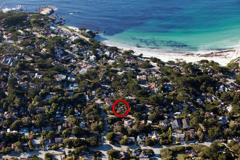 Aerial view, close to beach - Beautiful home in Carmel California - Carmel - rentals