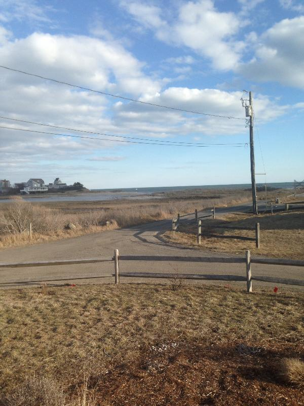 View from cottage - Unobstructed Walkout to Two Beaches - West Dennis - rentals
