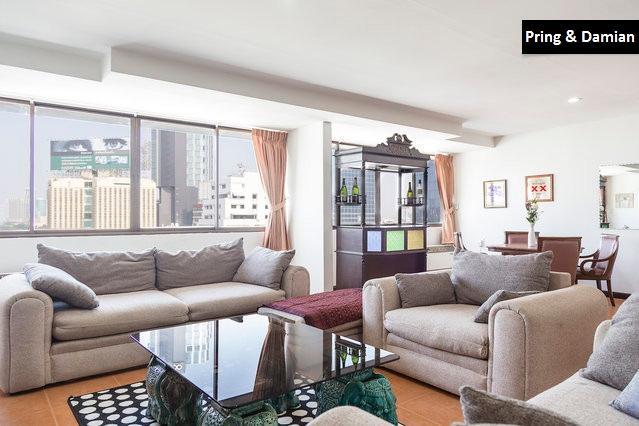 Central spacious trendy apartment - Image 1 - Bangkok - rentals