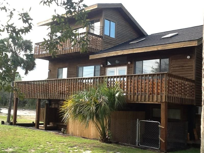 Back of house - Pet-Friendly, Sheltered, Near Beach and Town! - Saint George Island - rentals