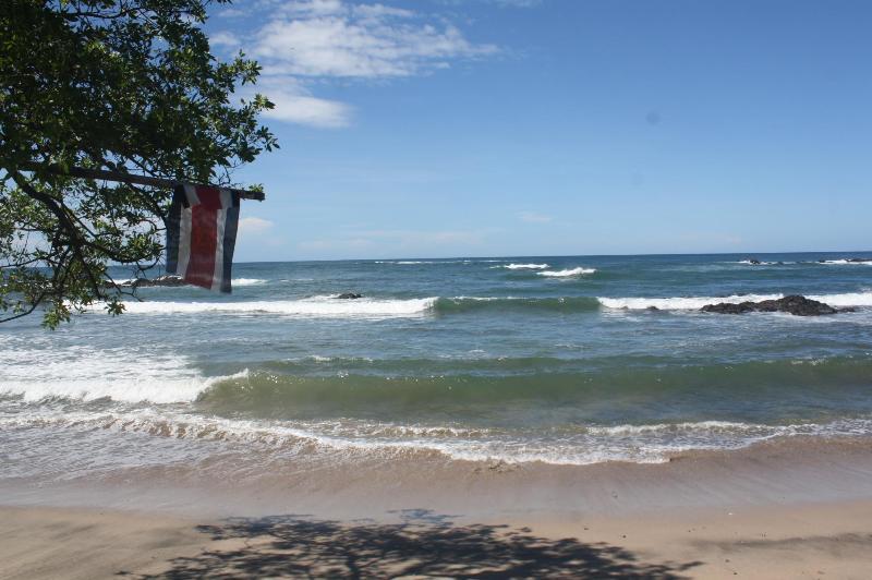 Your actual front ocean view - Oceanfront-OC Beach Cabin - Playa Junquillal - rentals