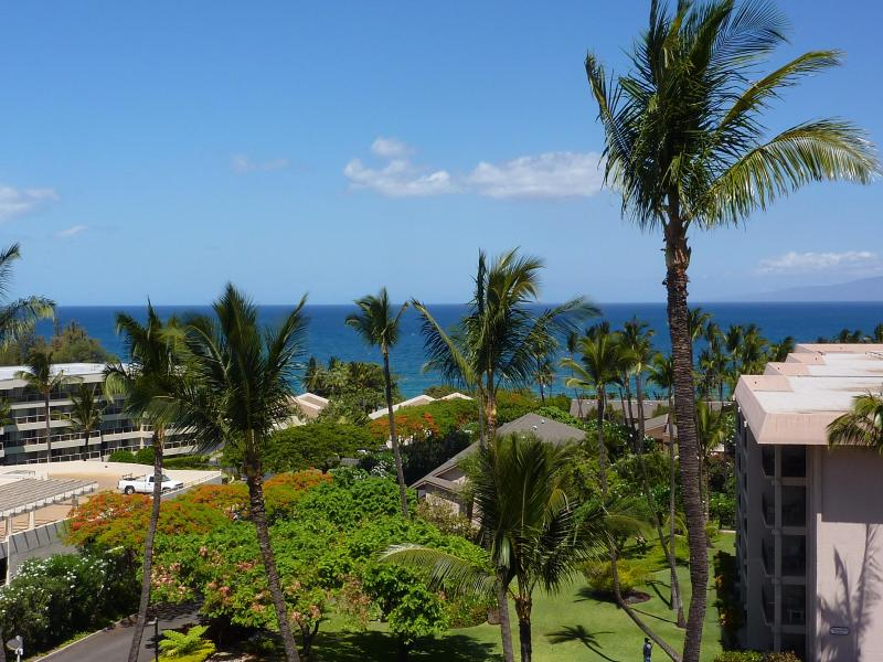 Full-on Western view from unit lanai - Updated 180 View Condo at Maui's Best Beaches - Kihei - rentals