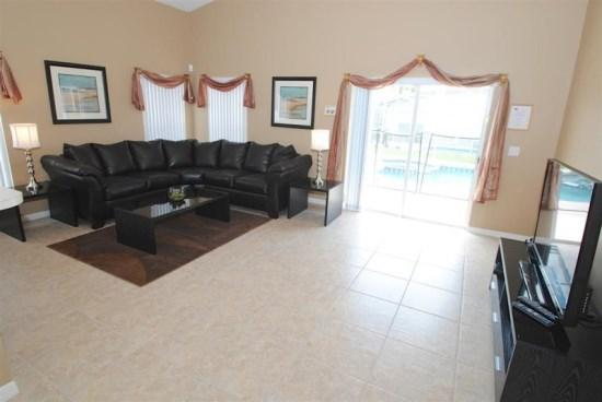 5 Bedroom 4 Bathroom Pool Home with Spa and Game room! - Image 1 - Orlando - rentals