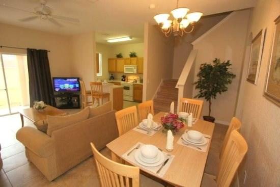 3 Bedrooms 3 Bath in Regal Palms Resort in Davenport! - Image 1 - Orlando - rentals