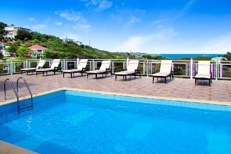 Ocean view Villa Panorama with 2 large pools & terraces and daily maid service - Image 1 - Toiny - rentals