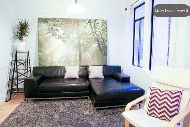 Living Room View 2 - Walker's Paradise in the Heart of San Francisco - San Francisco - rentals