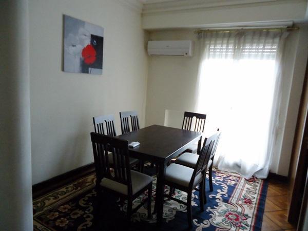 Sala comedor, c/aire acondicionado - Apartment Montevideo Center 2 bedroom, acc. 6 - Montevideo - rentals