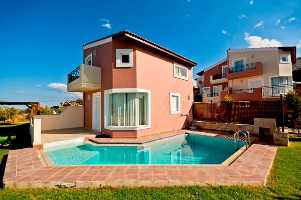 Exterior - Private Pool - Holiday Villa, Private Pool, Sea View, Near Beach - Chania - rentals