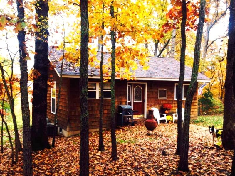 Copperstone in the Fall 2013 - Copperstone Cottage - A Romantic Escape - Steelville - rentals