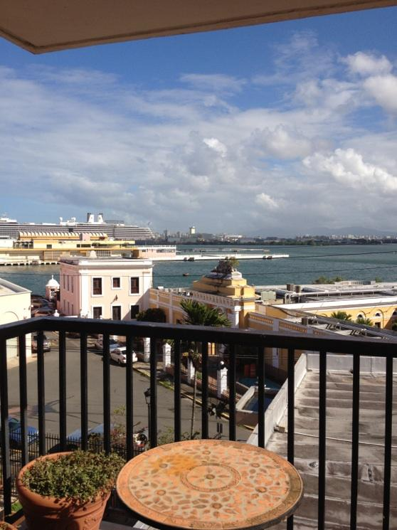 View from Balcony - Old San Juan Condo Located on the Waterfront - San Juan - rentals